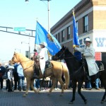 Christmas Parade in Cowtown