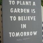 Pause to Praise the Garden