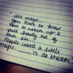 Pulling Magic