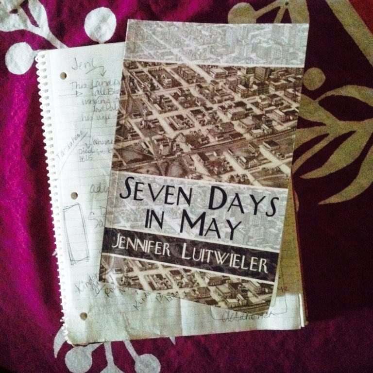 Seven Days in May by Jennifer Luitweiler