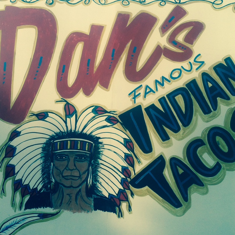 Dan's famous Indian Tacos