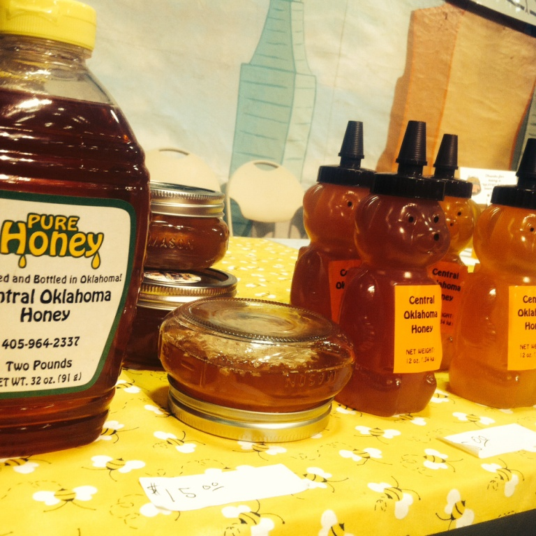 oklahoma raw local honey Kenuc