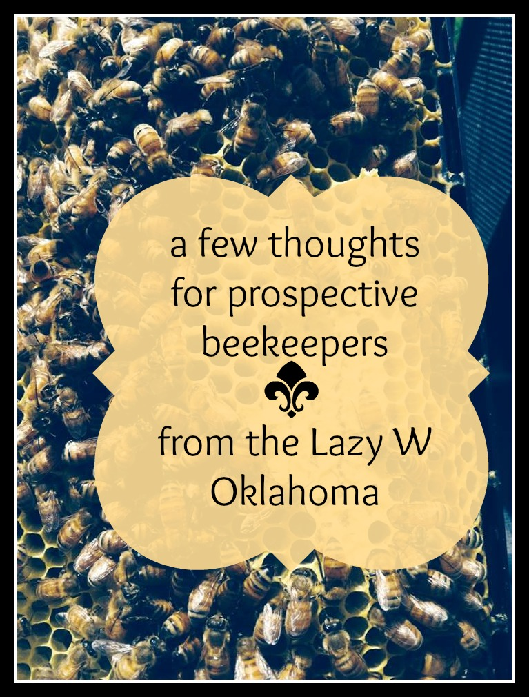 pprospective beekeepers with sticker