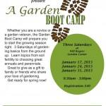 garden boot camp