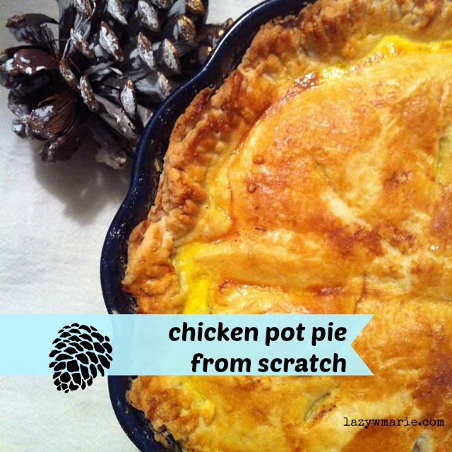 Make some chicken pot pie this weekend! It's perfect refuel and soothe-your-nerves food for between all those Christmas errands. xoxo