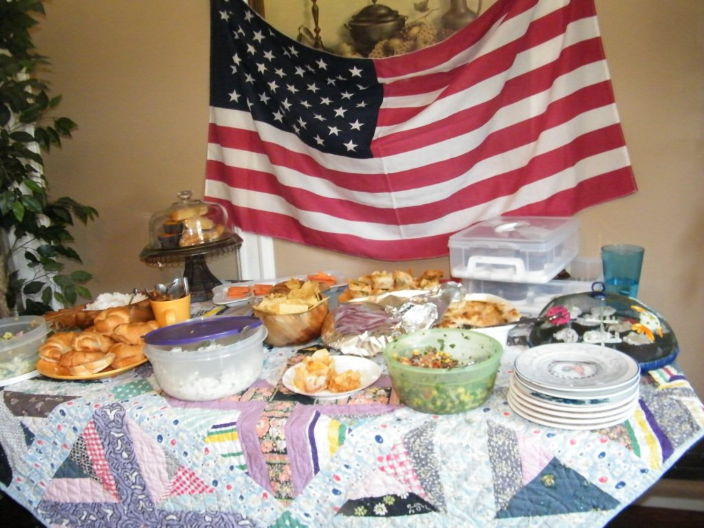 food and flag book club