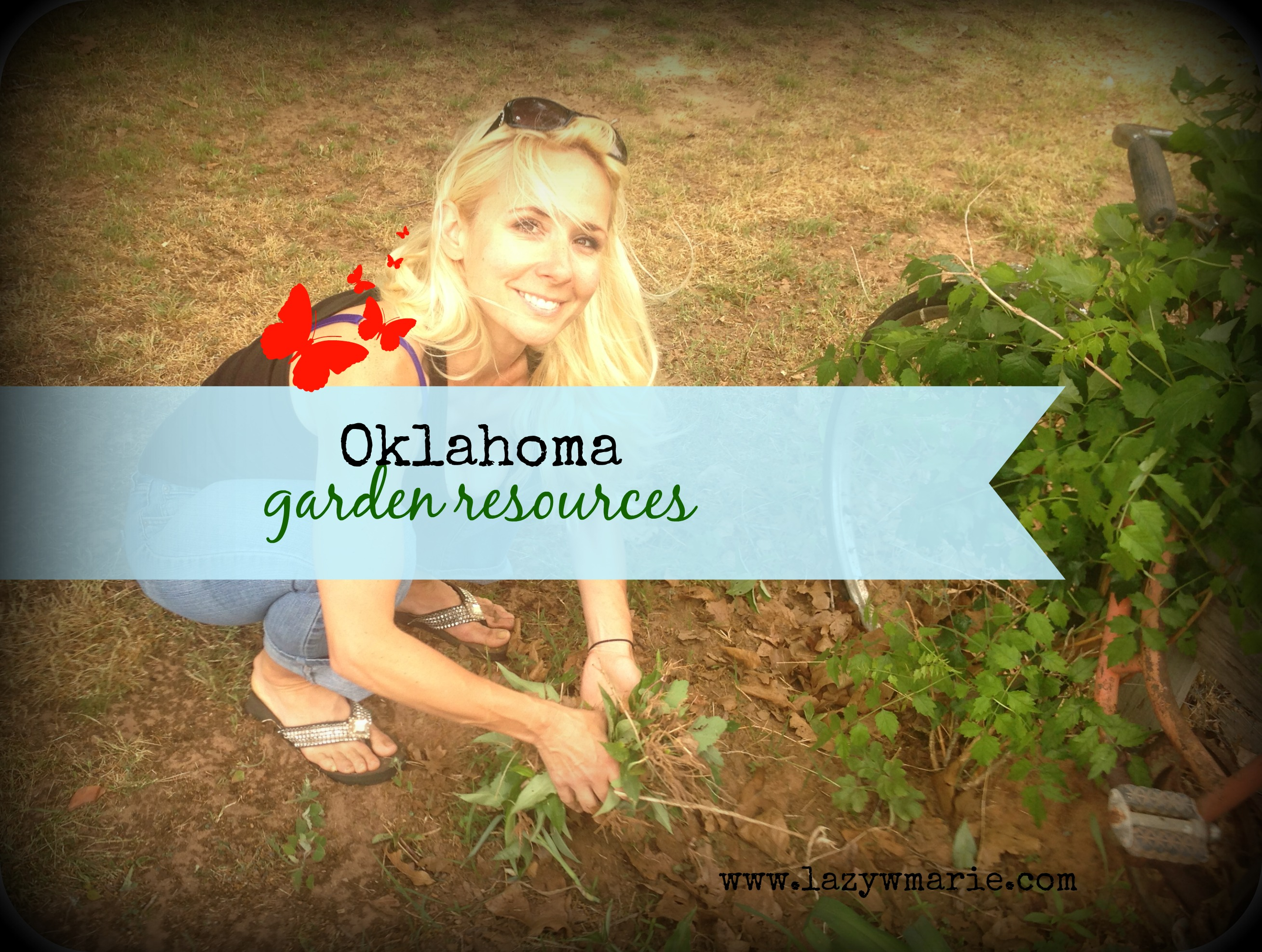 Check out this of resources for Oklahoma gardeners! xoxo