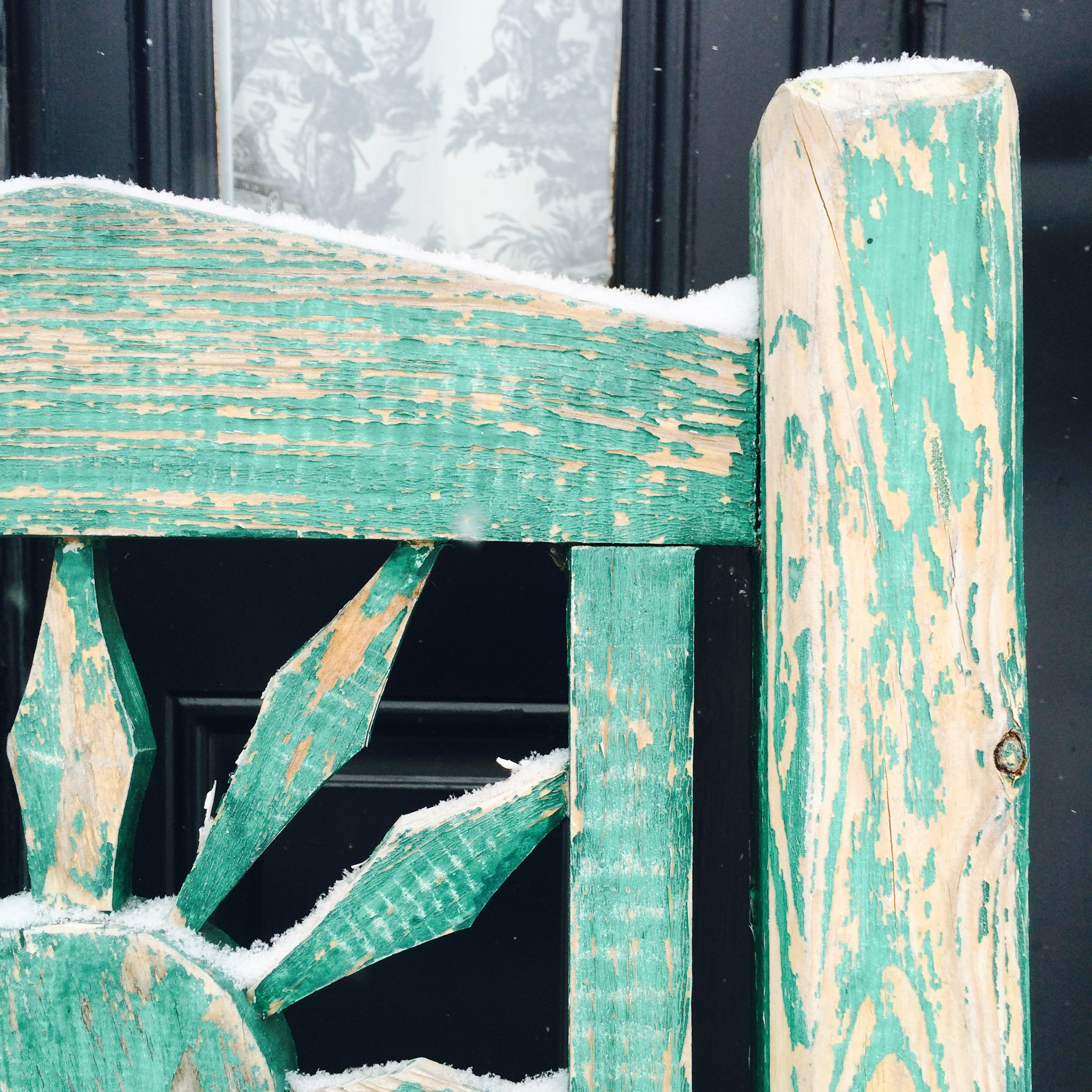 soft snow turquoise chair