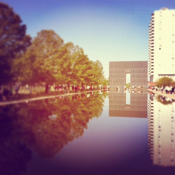 memorial reflecting pond