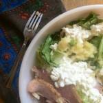 sweet & salty leftovers salad
