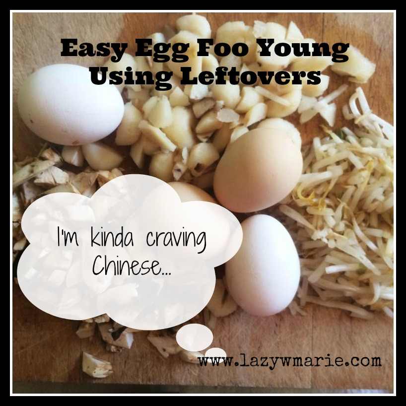 egg foo young board with label