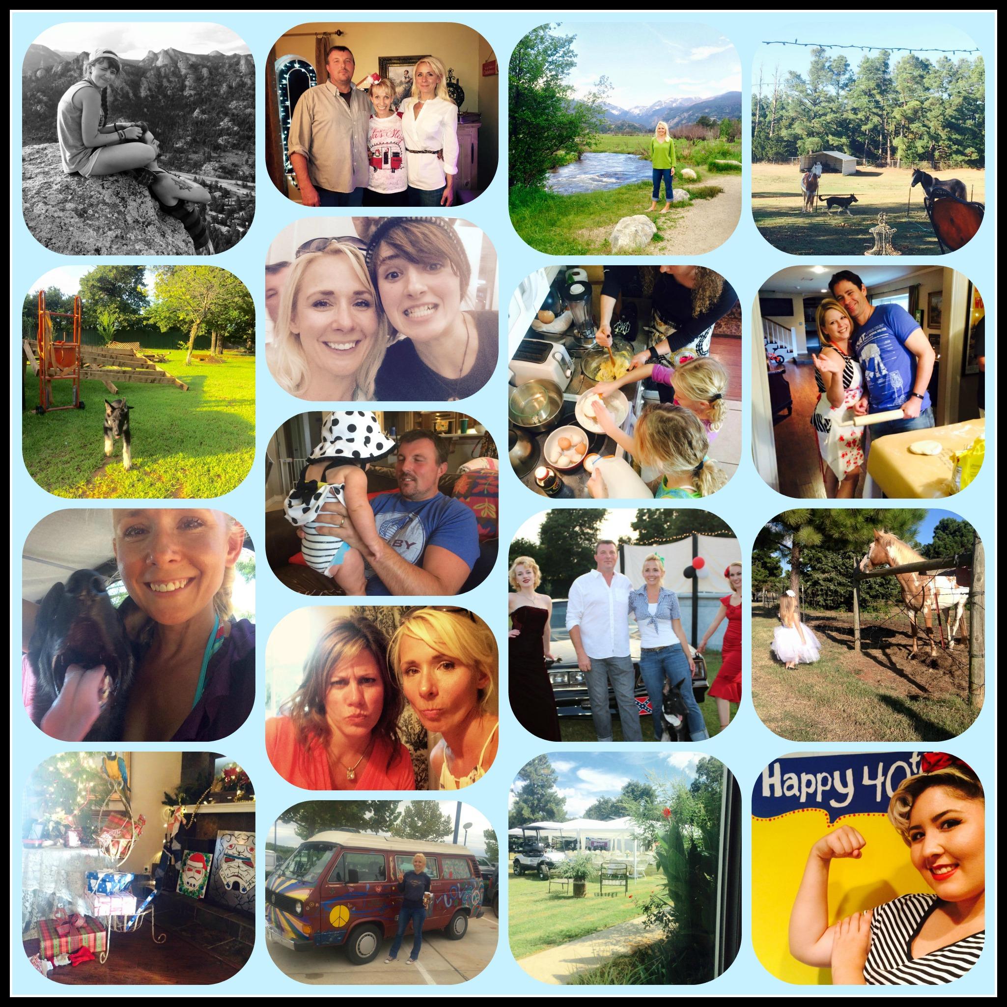 2015 photo collage