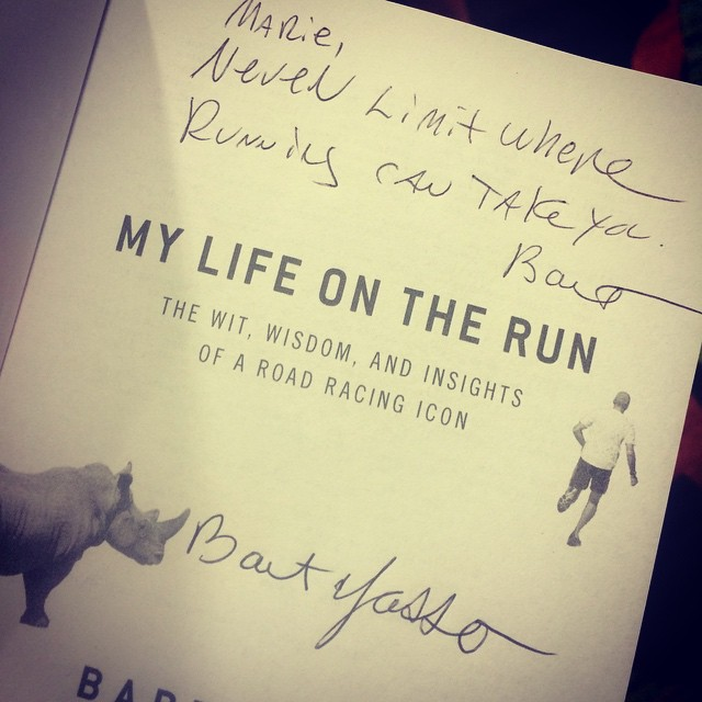 bart yasso book signature