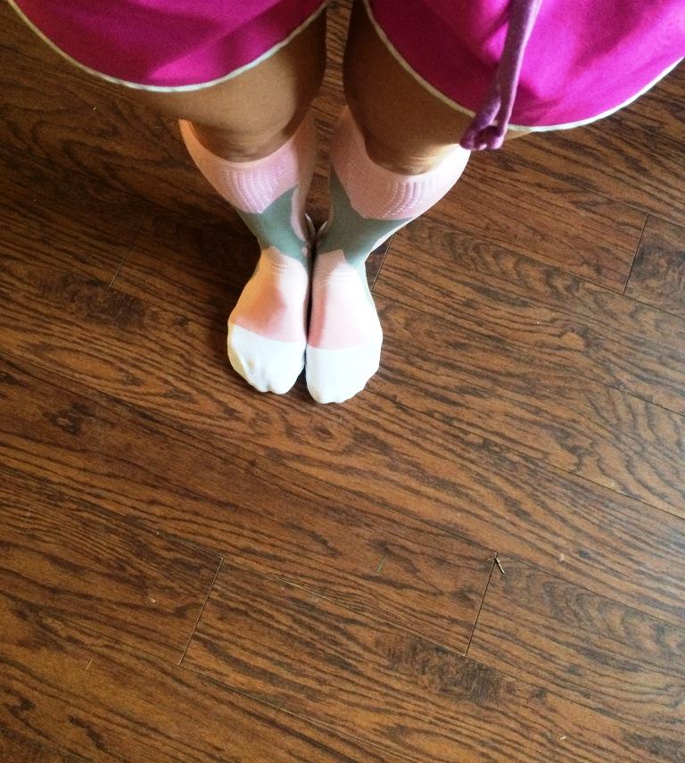 pink socks C