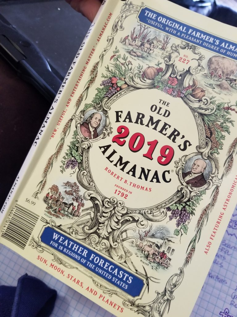 Do you use the almanac to plan your garden?